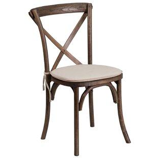 Wood Chair With Cushion Seat Wayfair