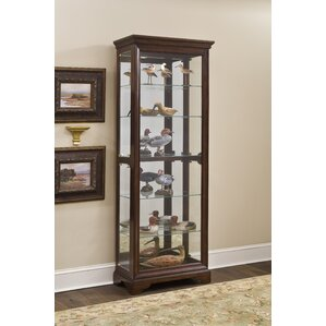 Locking Curio Cabinet | Wayfair