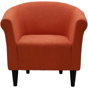 orange accent chairs you'll love | wayfair