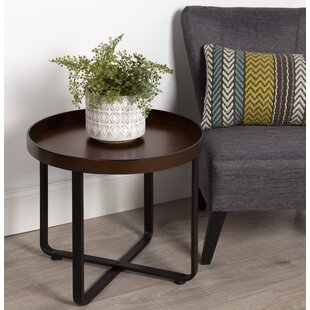 Wrenn Round Metal End Table