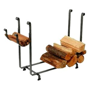 USA Handcrafted Rectangle Log Rack