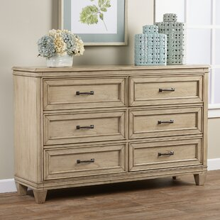 Industry 6 Drawer Double Dresser