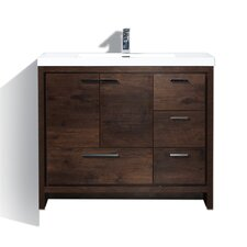 Good Gerard Free Standing Modern 41 On 42 Inch Bathroom Vanity