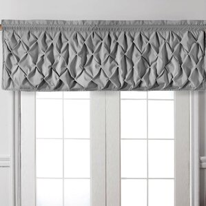 window valances, café & kitchen curtains you'll love   wayfair