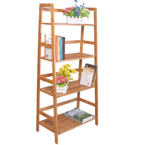 Bamboo Etagere In Living Room