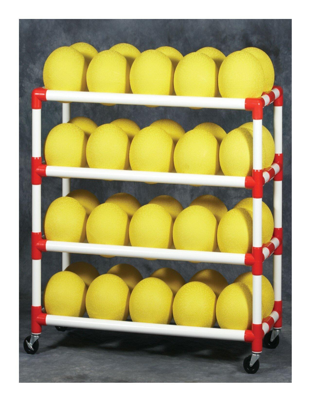 Duracart Ball Wall Utility Cart   Wayfair