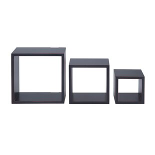3 Piece Nesting Cube Shelf Set