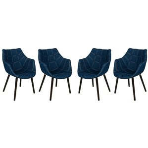 Milburn Armchair (Set of 4) by LeisureMod