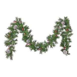 9' Spruce Artificial Christmas Garland