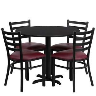 Jinnie 5 Piece Dining Set
