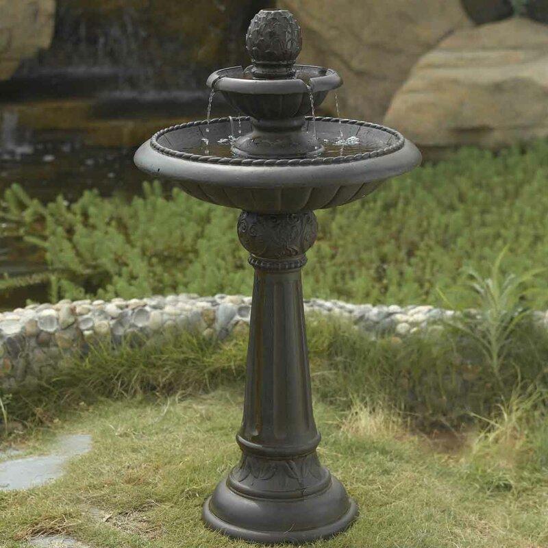 Resin/Fiberglass Ananas Pineapple Tier Outdoor Fountain
