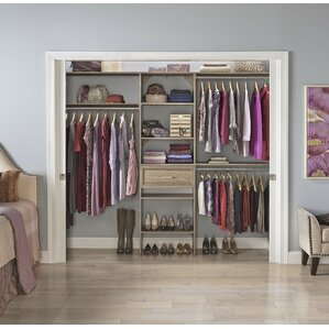 Walk In Closet Kits Closet Systems & Organizers You'll Love  Wayfair