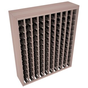 Karnes Redwood Deluxe 120 Bottle Floor Wine Rack