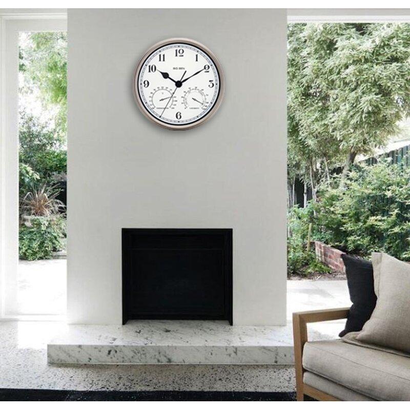 Westclox Big Ben 12 Round Metal Frame Outdoor Wall Clock Reviews
