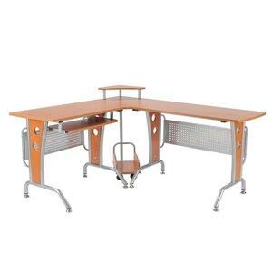 Computertisch mit Tastaturauszug von Hazelwood H..