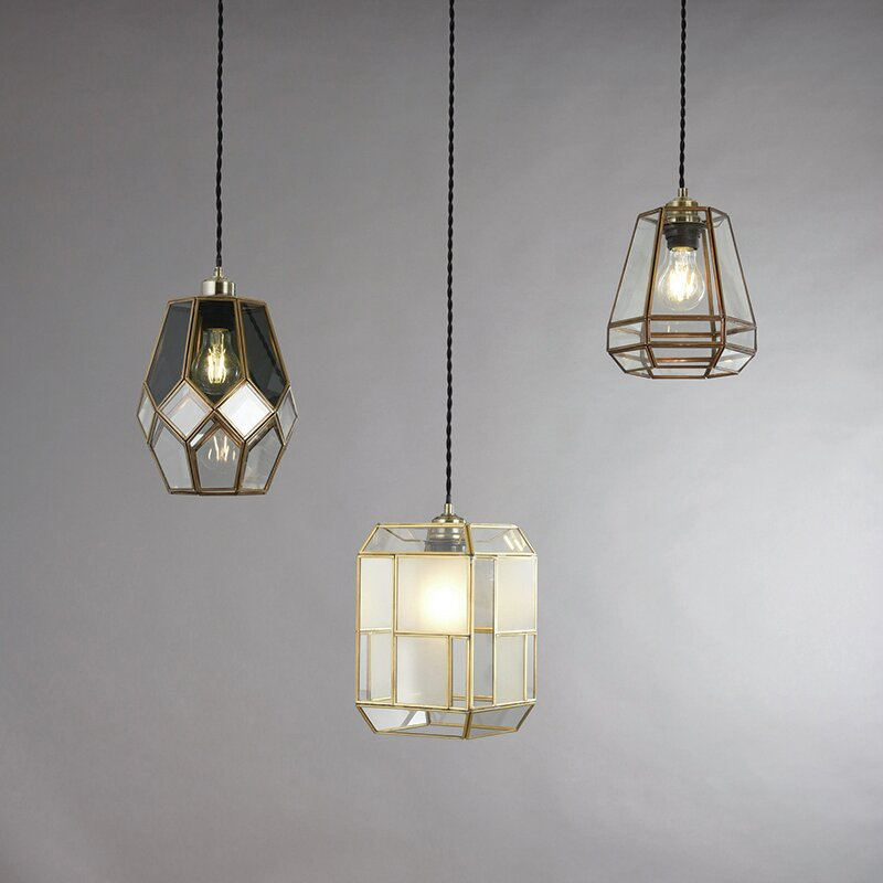 endon lighting 19 cm lampenschirm ripley aus glas. Black Bedroom Furniture Sets. Home Design Ideas
