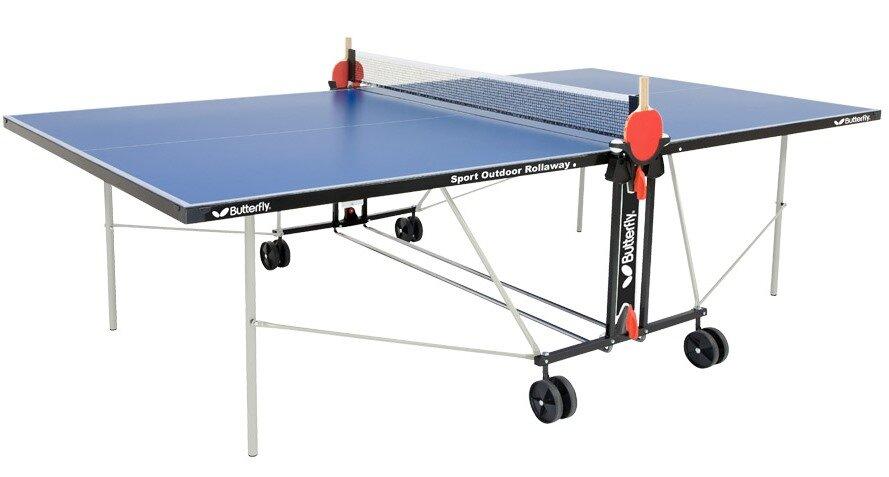 Butterfly sport outdoor rollaway table tennis table reviews - Outdoor table tennis table reviews ...