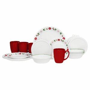 Livingware 20 Piece Dinnerware Set, Service for 4