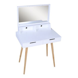 Curtis Makeup Vanity Set With Mirror