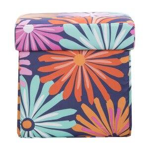 Dreaming of Daisies Box Ottoman by Crayola LLC