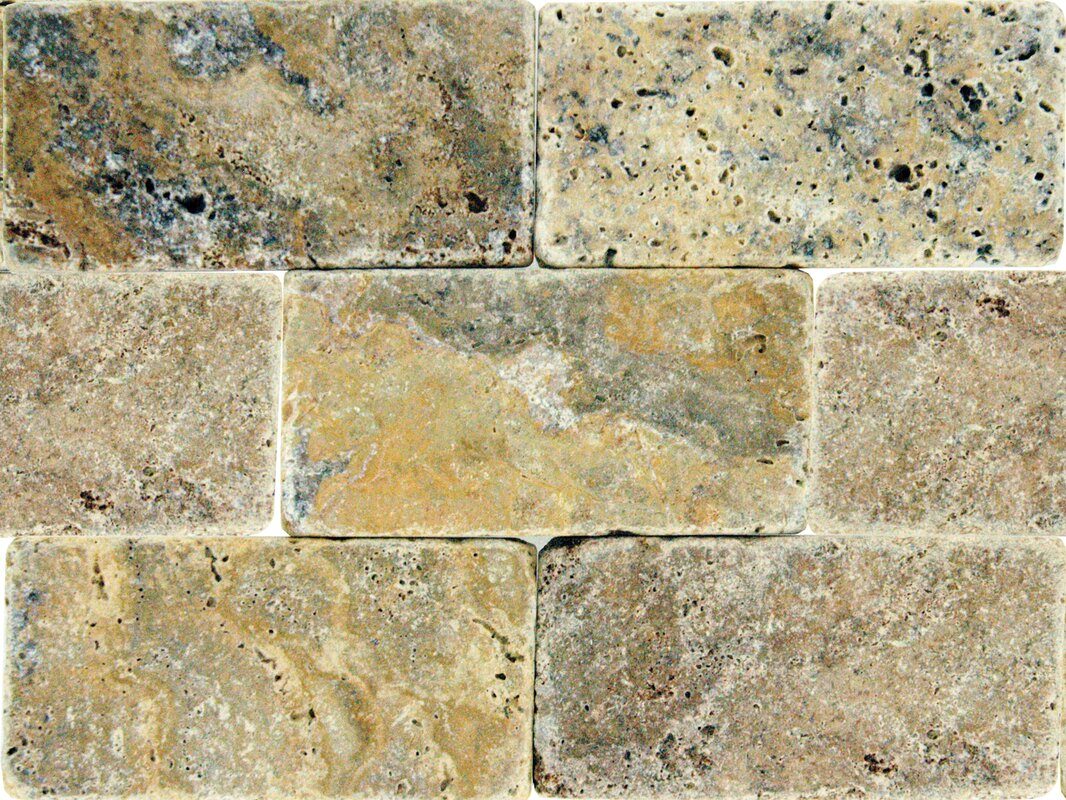 tuscany scabas 3u0027u0027 x 6u0027u0027 travertine subway tile