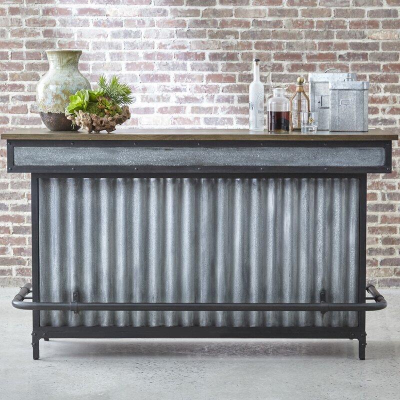 Highway Renegade Bar Cabinet & Reviews | Wayfair