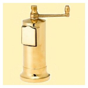 Chef's Mate Cast Brass Pepper Mill