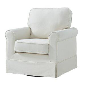 Nice Schumann Cotton Fabric Swivel Armchair