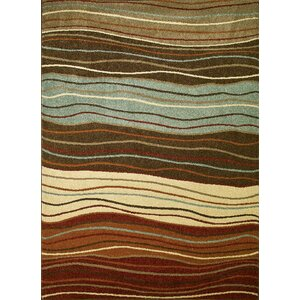 Chester Waves Multi Area Rug