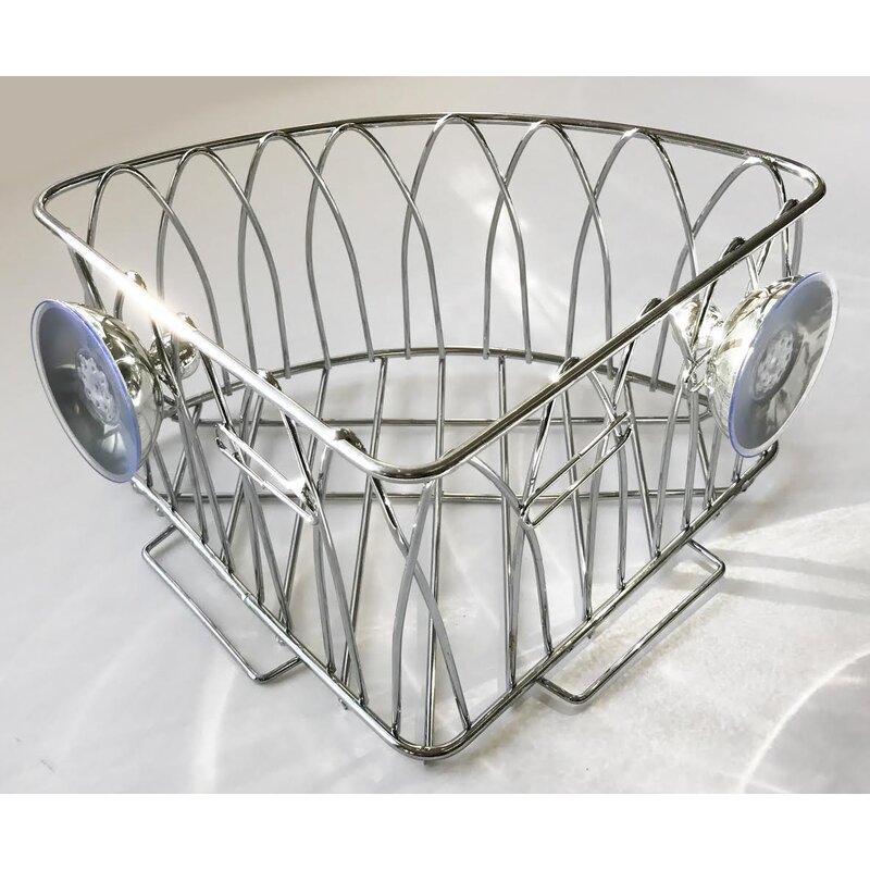 Wee\'s Beyond Metal Wall Mounted Corner Shower Caddy   Wayfair