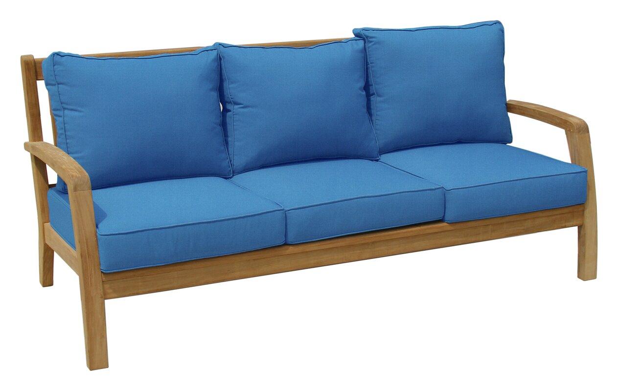 Douglas Nance Somerset Deep Seating Sofa with Cushion & Reviews ...