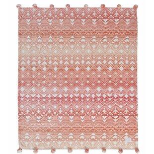 7c5eb60fb1c6 Ivory Ella Tessie Pink Ultra Soft Plush Fleece Throw