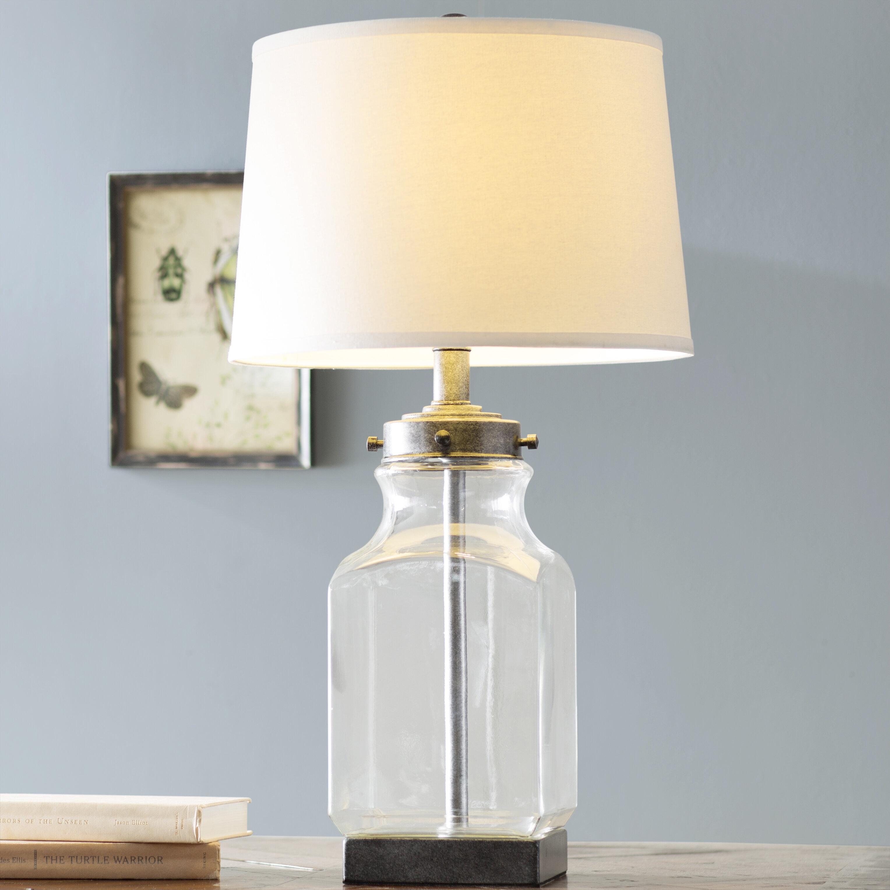 Laurel Foundry Modern Farmhouse Walnut Grove 3013 Table Lamp &