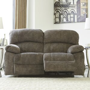 Kanesha Power Reclining Loveseat by Red Barr..