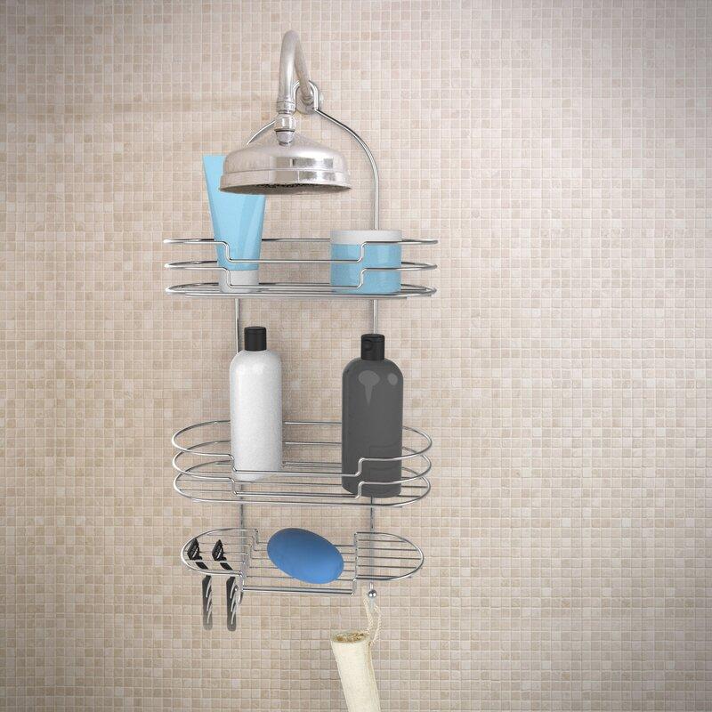 Rebrilliant Tall Shower Caddy | Wayfair