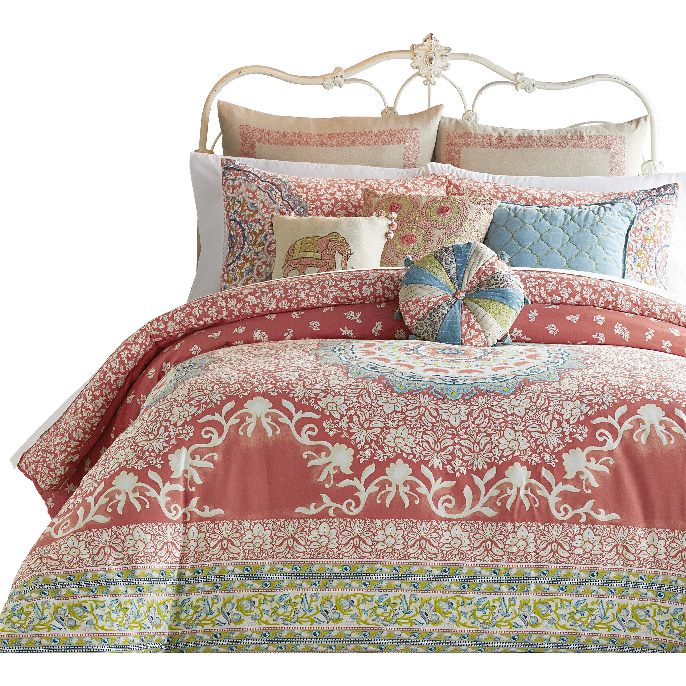 image itm maya ebay queen set is loading bedding pink turquoise sets comforter piece