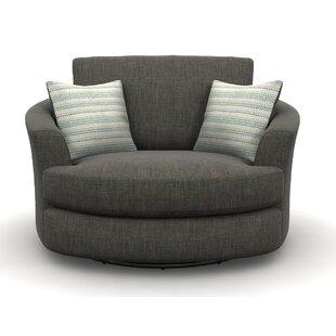 swivel snuggle chair wayfair co uk rh wayfair co uk Ashley Casheral Oversized Swivel Chair Round Swivel Sofa Chair