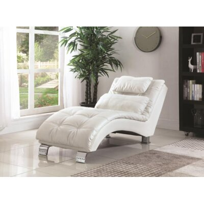 White Amp Yellow Chaise Lounge Chairs You Ll Love Wayfair
