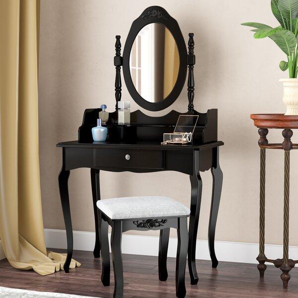- Vintage Makeup Vanity Wayfair