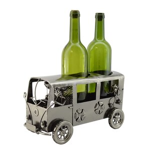Mini Van 2 Bottle Tabletop Wine Rack by T..