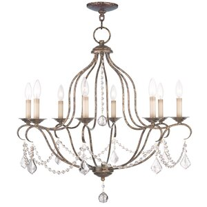 Bayfront 8-Light Candle-Style Chandelier