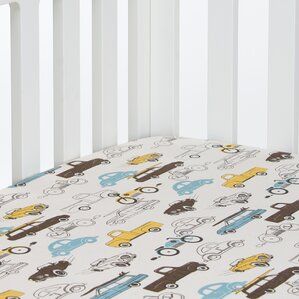 traffic jam fitted crib sheet - Crib Sheets