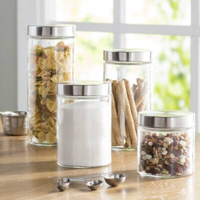 Wayfair Basics 8 Container Food Storage Set