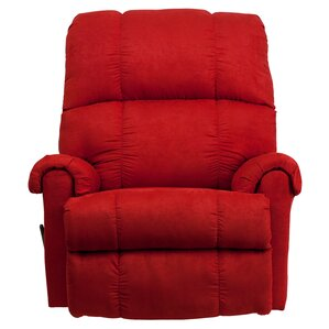 Broadcommon Manual Rocker Recliner  sc 1 st  Wayfair : red leather recliner chairs - islam-shia.org