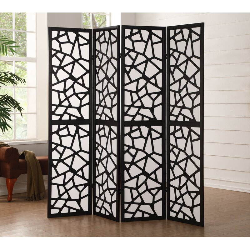 Harvey Screen 4 Panel Room Divider