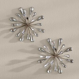 2 Piece Starburst Wall Decor Set