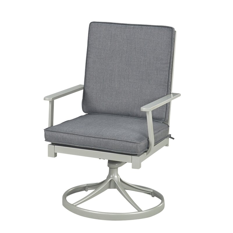 Dinan Swivel And Rocking Arm Chair