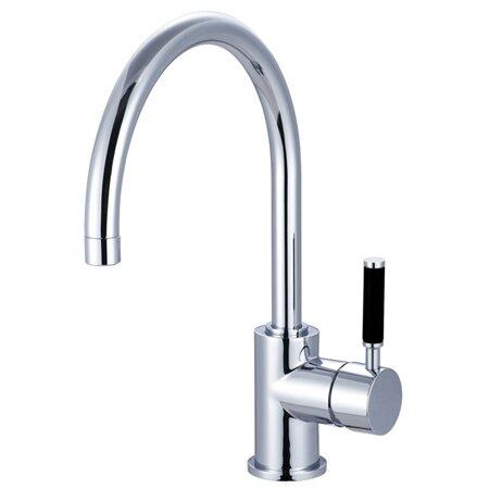kaiser single handle vessel sink faucet