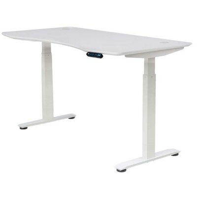 White Standing Amp Height Adjustable Desks You Ll Love