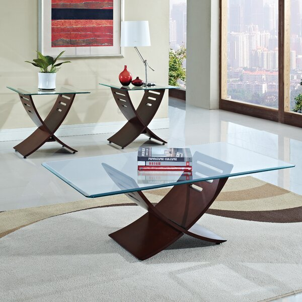 acme furniture elhan coffee table set reviews wayfair 11480 | elhan coffee table set